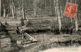 CPA FORET DE BERCE , Les Sources De L'hermitière - Altri Comuni