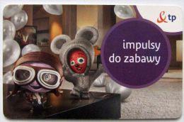 Poland (chip) - 30u - PL-D 211a - E2 P 01/08/13 - Heart And Brain Mascots - Poland