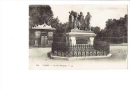 62 - CALAIS - Les Six Bourgeois - Momnument - N°115 - Publicité SAVON LE CHAT / BYRRH - 1918 - Calais