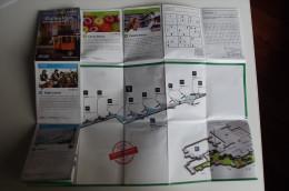 Alt539 Mappa Guida Pocket Aeroporto Lisbona, Airport Shopping Guide, Guia Lisboa Lisbonne - Mappe