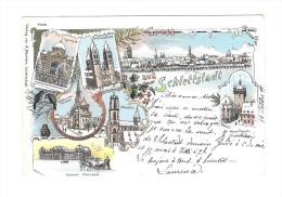 Gruss Aus Schlettstadt  ( Différents Batiments De La Ville ) - Selestat