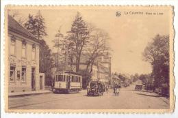 E3384 - La Calamine Route De Liège  *tram*camion De Brasserie PHENIX* Pharmacie* - Kelmis