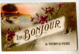 E3747  -  Un Bonjour De FOURON-SAINT-PIERRE - Voeren