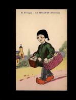 29 - HUELGOAT - Marchand - Dessin - Huelgoat