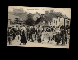 29 - HUELGOAT - Marché Aux Vaches - Huelgoat