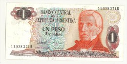 ARGENTINA - 1 PESO UN PESO - FDS - UNC # 11.838.271B - Argentine