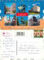 St Petersburg, Russia Postcard Posted 2000 ESTONIA Stamp - Estonia