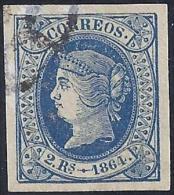 ESPAÑA 1864 - Edifil # 68 - Precio De Cat.: 18€ - 1850-68 Kingdom: Isabella II