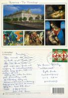 Gdansk, Poland Postcard Posted 2001 ESTONIA Stamp - Estonia