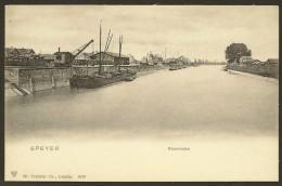 SPEYER Rheinhafen (Trenkler)  Rhénanie-Palatinat ALLEMAGNE - Speyer
