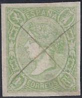 ESPAÑA 1865 - Edifil #72 - VFU - Gebraucht