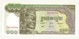 CAMBOGIA - CAMBODGE - 100 RIELS CENT RIELS  - UNC  #338958 - Cambodia