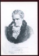 CPM Neuve Personnage Jean Jacques ROUSSEAU Ecrivain Philosophe - Schriftsteller