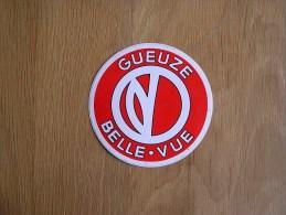 GUEUZE BELLE VUE Vandenstock Anderlecht  Publicité Bière Bier Brasserie Autocollant Sticker Autres Collections - Autocollants