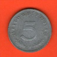 *** 5 Reichspfennig 1947 A ***  KM A105 - Ocupación Allied Occupation - Zinc / Zink - ALEMANIA / DEUTSCHLAND / GERMANY - [ 5] 1945-1949 : Ocupación