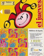 SPAIN - El Jueves(yellow), 10/98, Used