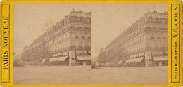 France - Paris - Grand Hotel - Cartes Stéréoscopiques