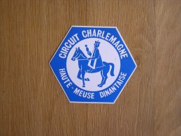 CIRCUIT CHARLEMAGNE HAUTE MEUSE DINANTAISE Dinant Autocollant Sticker Autres Collections - Stickers