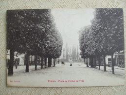 AL6-37 - CHINON - PLACE DE L'HOTEL DE VILLE - Chinon