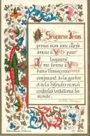 Devotie - Seigneur Jesus - 25 Jaar 1863 - 1888 - Andachtsbilder