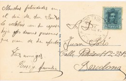 9036. Postal PALLEJÁ (Barcelona) 1928 - Cartas