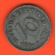 *** 10 Reichspfennig 1946 F ***  KM A104 - Ocupación Allied Occupation - Zinc / Zink - ALEMANIA / DEUTSCHLAND / GERMANY - 10 Reichspfennig