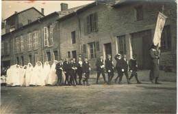 ARDENNES 08.VILLERS LE THOUR CARTE PHOTO COMMUNION 1924