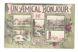 Un Amical Bonjour De Malines - Mechelen   (Y318)b146 - Malines