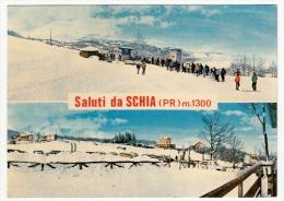 SALUTI DA SCHIA - TIZZANO VAL PARMA - 1972 - Parma