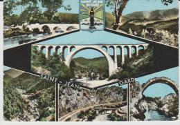 R : Gard :  SAINT  JEAN  Du  GARD  : Vue  1963 - Saint-Jean-du-Gard