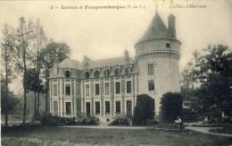 CPA - ENVIRONS DE FAUQUEMBERGUE. Château D´Hervarre - 2 Scans - Fauquembergues