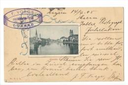 9541 -  Zürich  F. Voege Luzern - ZH Zurich