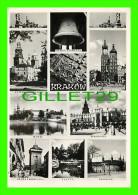 CRACOVIE, POLOGNE -  KRAKOW, 11 MULTIVUES - WRITTEN IN 1966 - - Pologne