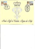 België    Herdenkingskaart      Belgïë  -  Italië      Gezamelijke Uitgifte - Souvenir Cards