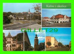 KALISZ, POLOGNE - KALISZ I OKOLICE - 5 MULTIVUES - - Pologne