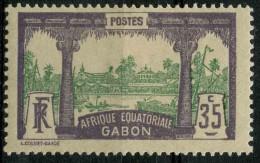 Gabon (1910) N 41 * (charniere)