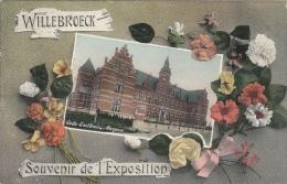 Cpa/pk 1929 Willebroek Willebroeck Gods-Gasthuis Souvenir De L'Exposition - Willebroek