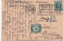 TIMBRE - HOUYOUX  N° 194 De 1922 10c + Taxe 10c -Oblit.THY-LE-CHATEAU 1926