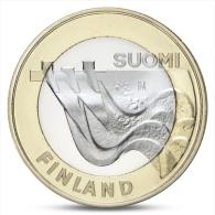 FINLAND FINLANDE FINNLAND 5 EURO PROVINCIAL BUILDINGS KARELIA 2013 UNC - Finland