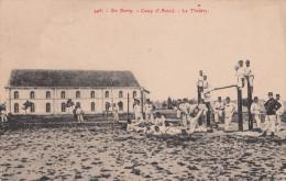 En Berry  - Camp D'Avord. Le Theatre. - Militares