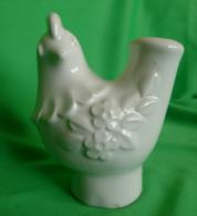 Vintage Helsingborg Deco Keramik Design Rosa Ljung ? Bird Cock Ceramic VASE Pot - Unclassified