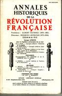 ANNALES HISTORIQUES DE LA REVOLUTION FRANCAISE  (Collectif) Broché N° 237 - Storia