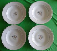 Vintage Germany Bavaria HEINRICH Winterling Plate Dish 4 Pcs. - LORE Import Mark RARE - Heinrich (DEU)