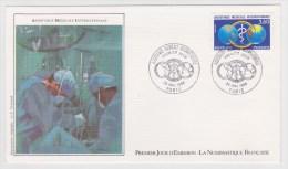 (RECTO / VERSO) 1988 - ASSISTANCE MEDICALE INTERNATIONALE - PARIS - 1980-1989