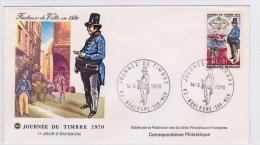 1970 - JOURNEE DU TIMBRE - BOULOGNE SUR MER - FDC