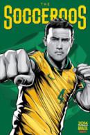 STICKER SIZE.6,5X9,5 CM. APROX - WORLD CUP FOOTBALL BRASIL 2014 - AUSTRALIA - Otros