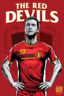 STICKER SIZE.6,5X9,5 CM. APROX - WORLD CUP FOOTBALL BRASIL 2014 - BELGIUM - Vignettes Autocollantes