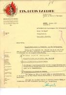 Ets Louis Tallier Brandweermaterieel Asse 1951 Burelen Te Asse Fabriek En Werven Te Baardegem - 1950 - ...