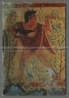 T4598 ARTE DANZATORE NECROPOLI DI TARQUINIA TOMBA DEI LEOPARDI VG (m) - Paintings