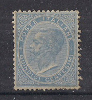 REGNO D'ITALIA   1863   CIFRA  O EFFIGE    SASS. 18   MNH SENZA GOMMA VF - Neufs